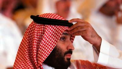 Der saudische Kronprinz Mohammed bin Salman. (AP)