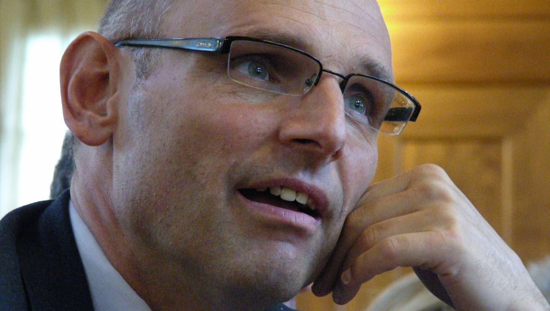 Bringt sich in Position: SVP-Nationalrat Alfred Heer. (Alfred Borter / LTA)
