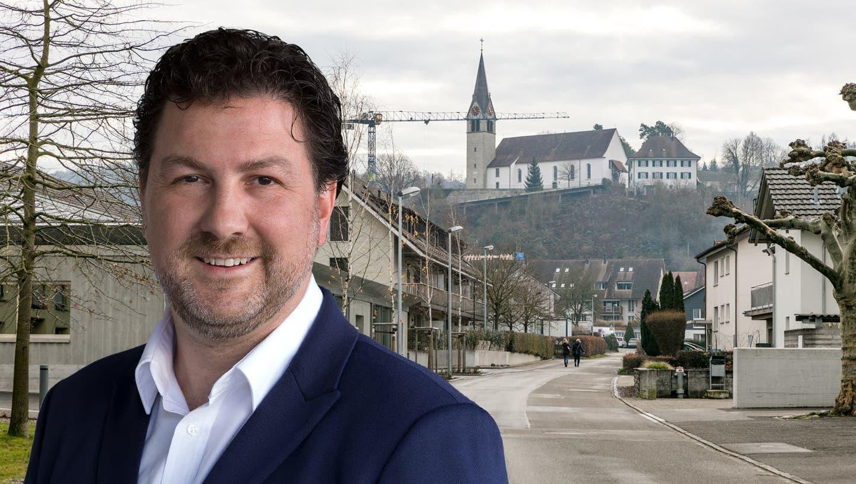 Gemeindeammann Patrick Zimmermann (FDP) (zvg)