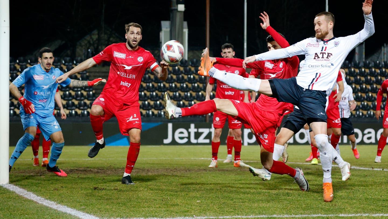 Das letzte 0:0-Unentschieden zwischen Aarau und Winterthur gab es vor über acht Jahren - Olivier Jäckle spielte damals schon im FCA-Dress. (freshfocus)