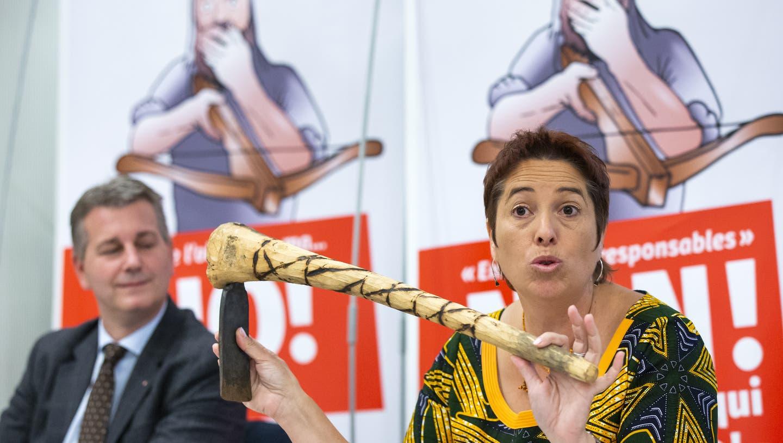 Mit ihrem Einsatz gegen die Konzernverantwortungsinitiative war Isabelle Chevalley auch in der Deutschschweiz bekannt geworden. (Keystone)