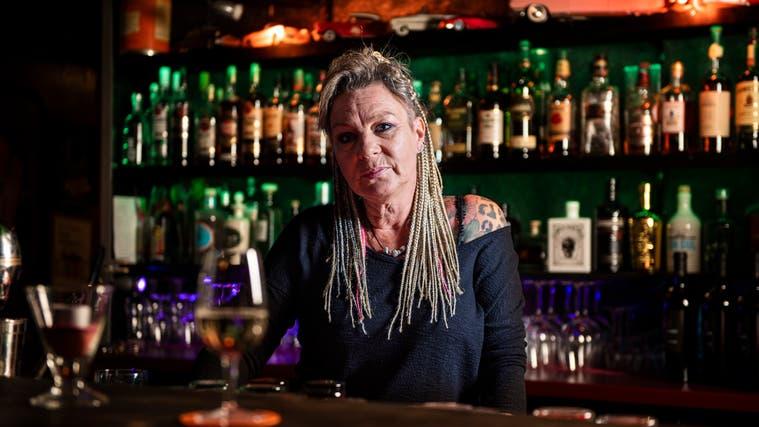 Priska Brunner ist Wirtin in der Fifties Bar in Affeltrangen. (Bild: Reto Martin)