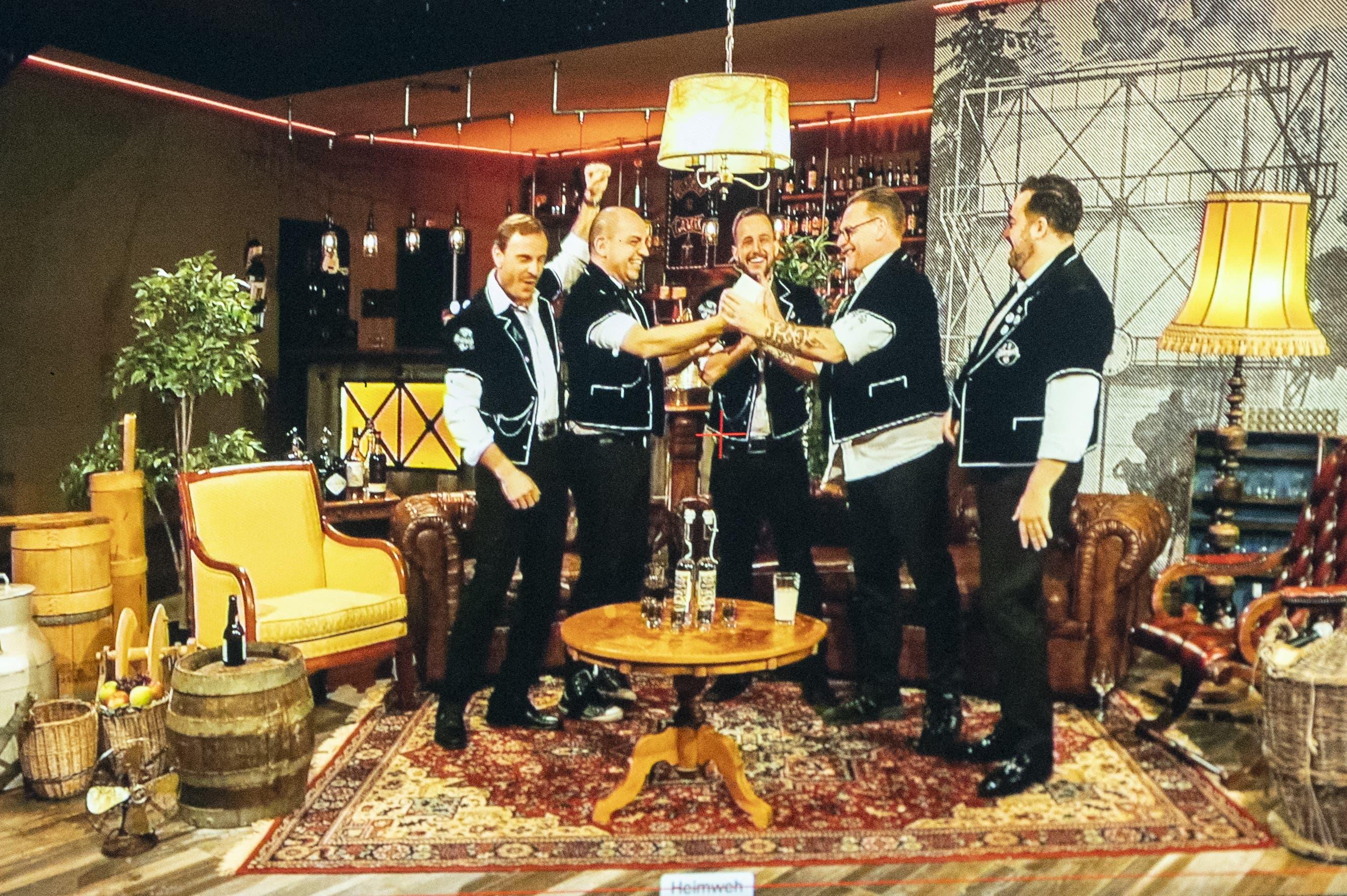 Heimweh erhält den Preis als «Best Group»
