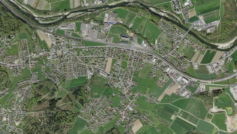 Grundlage für Forschung und Innovation: Swisstopo stellt alle Geodaten und Aufnahmen wie dieses Foto neu zur freien Nutzung zur Verfügung. (Swisstopo)