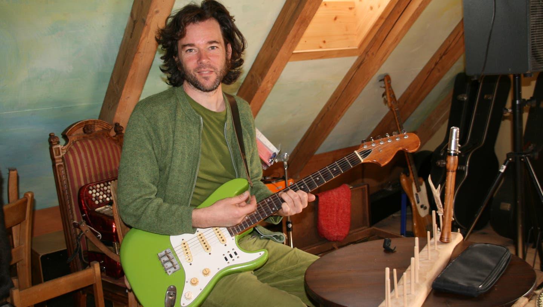 Gabriel Kramer hofft darauf, baldwieder live spielen zu können. (Peter Schütz / Aargauer Zeitung)