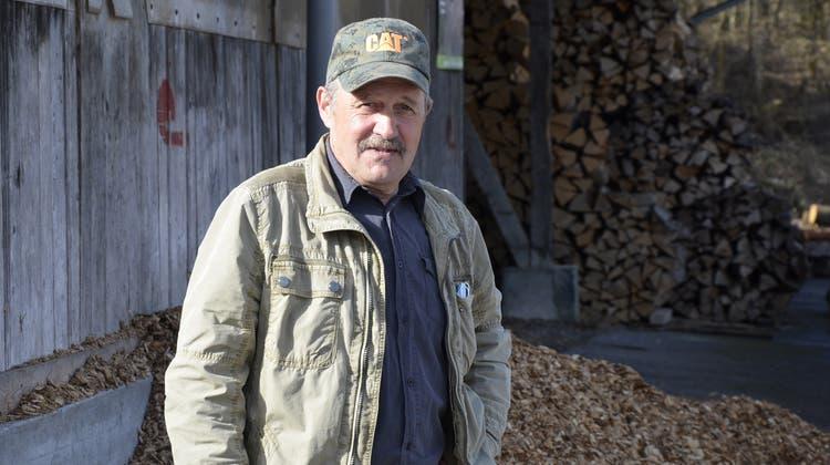 Walter Widmer (63): «Heute muss man schauen, dass der Wald überhaupt noch grün wird.» (Daniel Vizentini)