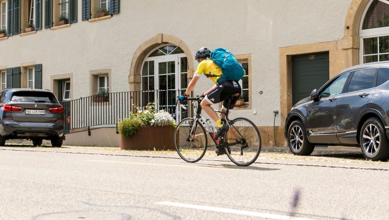 Der Rennvelo-Fahrer und ein Motorradlenker standen vor Gericht in Zurzach. (Sandra Ardizzone / BRU)
