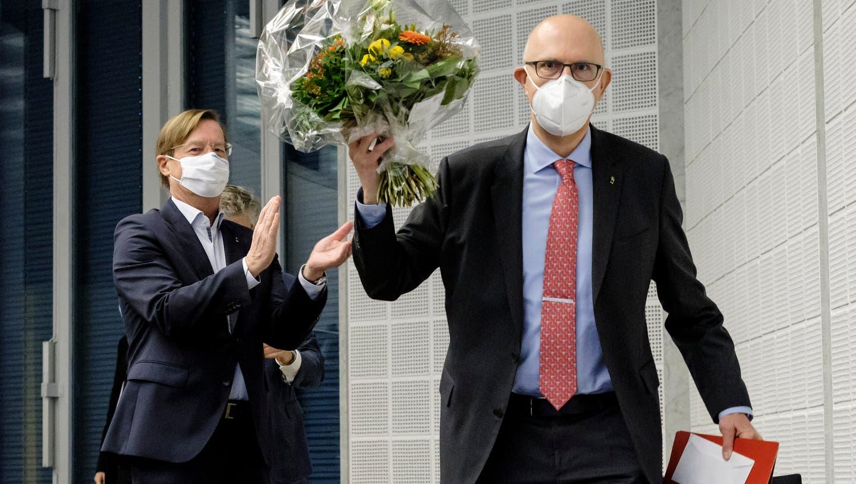 David Jenny (FDP) ist neu gewählter Präsident des Grossen Rats in Basel-Stadt. Er bekam 92 von 96 Stimmen – ein Glanzresultat. (Kenneth Nars)