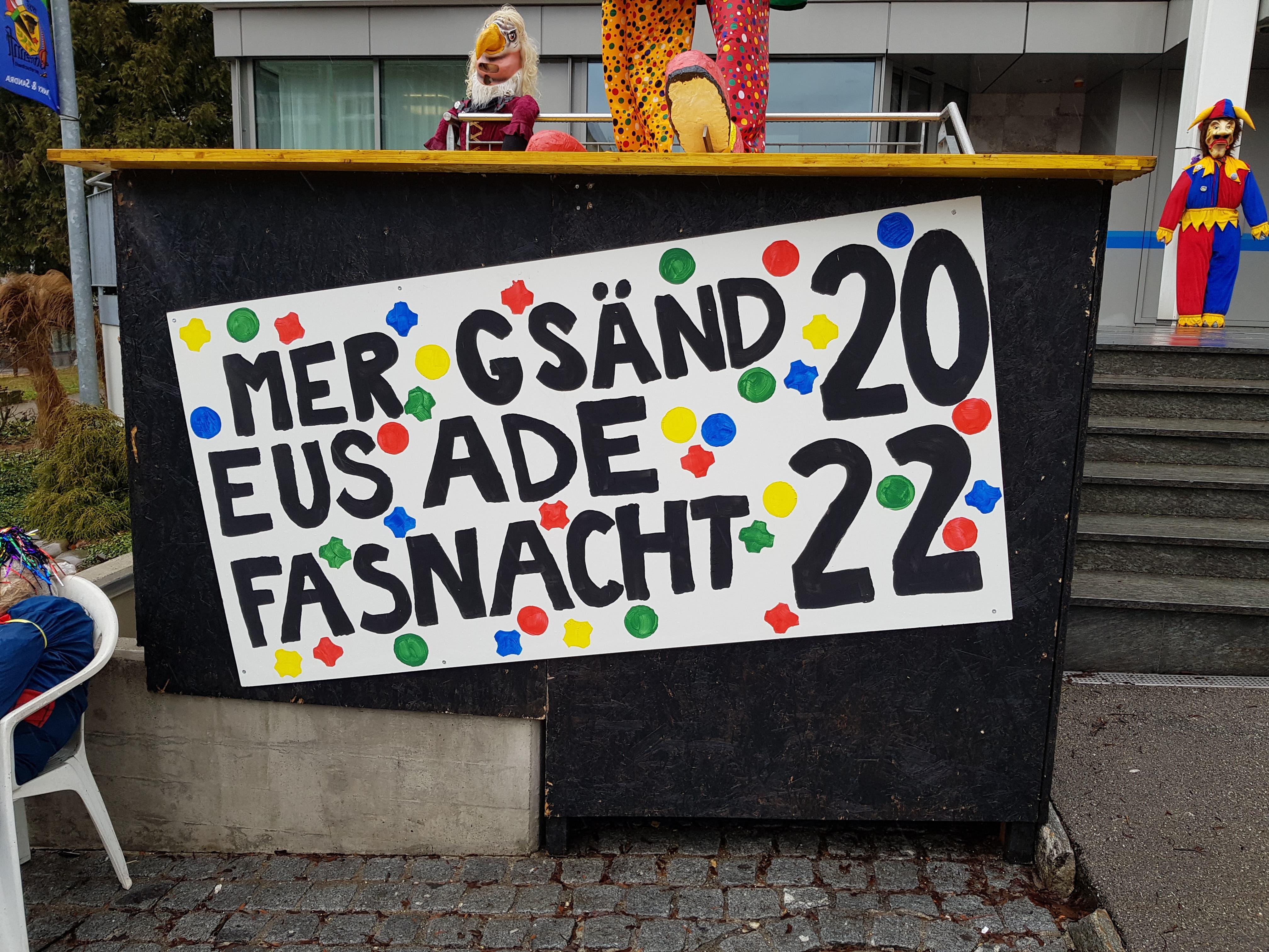 Die Fasnächtler freuen sich auf die fünfte Jahreszeit im 2022.