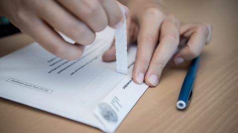 Nicht alle Unterlagen wurden in Halten verpackt. (Symbolbild) (Pius Amrein)