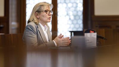 Die grüne Regierungsrätin Brigit Wyss wird bei den Wahlen vom Gewerbeverband unterstützt. (Hanspeter Bärtschi)
