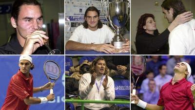 Am 4. Februar 2001 gewinnt Roger Federer seinen ersten ATP-Titel. (Keystone)