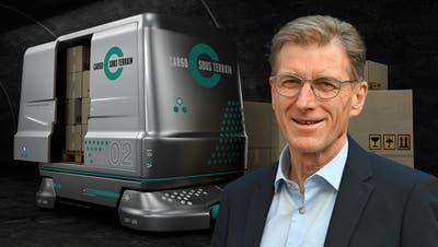 Peter Sutterlüti ist Verwaltungsratspräsident von Cargo Sous Terrain. (Bildquellen: zVg/Bruno Kissling)