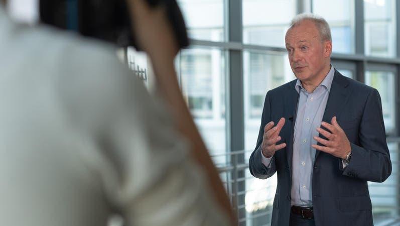 Swisscom-Chef Urs Schaeppi ist mit seinem Unternehmen zufrieden. (zvg)