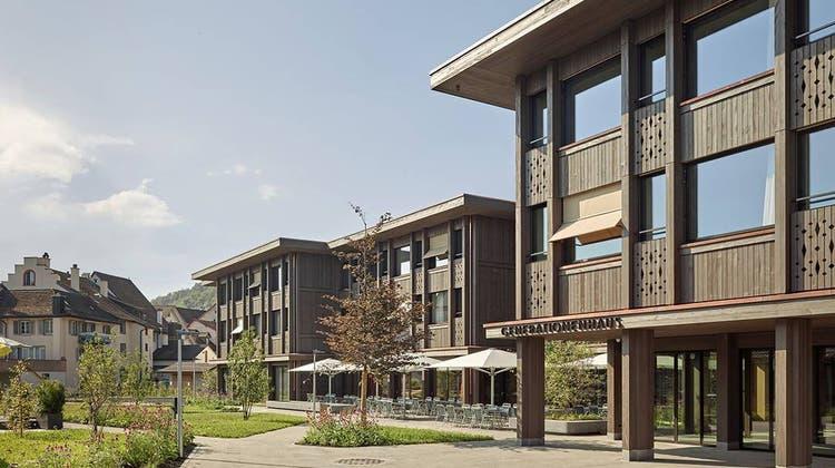 Im Generationenhaus befinden sich unter anderem das Alters- und Pflegezentrum Pfauen, eine Kita und die Spitex. (zvg/Zentrum für Pflege und Betreuung Pfauen)