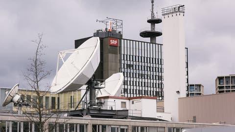Die Probleme in den SRF-Fernsehstudios sind nur eine von vielen Baustellen bei der SRG. (Keystone)