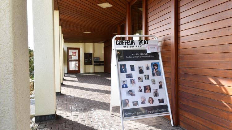 Zu vermieten im Haus der Gemeindeverwaltung: Winznau sucht Nachfolge für den Salon Beat. (Bruno Kissling)