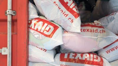 Der Markt für Altkleider ist zusammengebrochen – nun bittet Texaid die Gemeinde um Reduktion