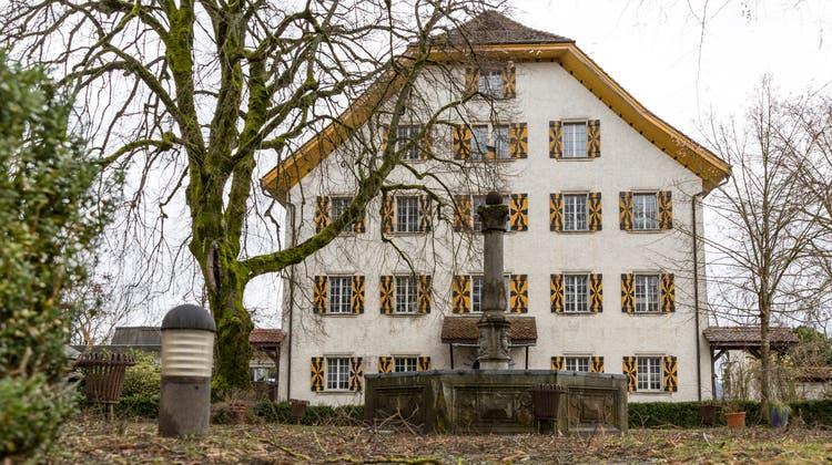 Teil der Konkursmasse: Seit Monaten sind die Lichter aus in Schloss Böttstein. (Bild: Sandra Ardizzone (2.2.2021))