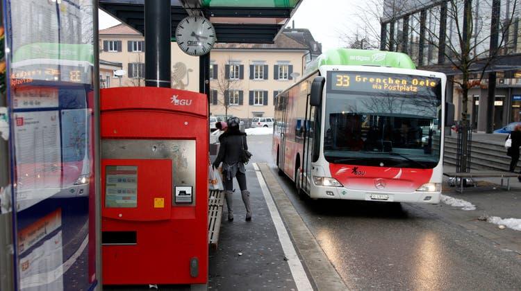 BGU-Bus (Symbolbild) (Hanspeter Bärtschi)
