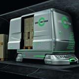In den Transportwagen von Cargo Sous Terrain sollen dereinst auch Güter von Migros und Coop unterirdisch befördert werden. (Visualisierung: CST)