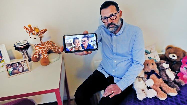Ümit Dinler hofft darauf, seine Tochter wieder einmal sehen zu dürfen. (Francisco Carrascosa)