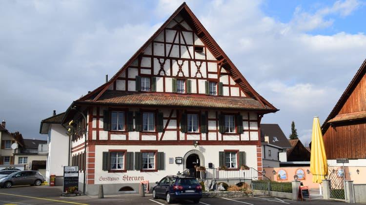 Der Boswiler «Sternen», eine der ältesten Freiämter Tavernen, ging wegen Corona zu und muss nun verkauft werden. (Toni Widmer)