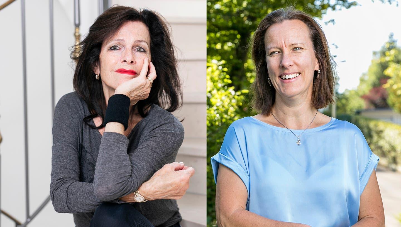 Die Buchautorinnen Silvia Götschi (links) und Ina Haller. (Bilder: Britta Gut/Sandra Ardizzone)