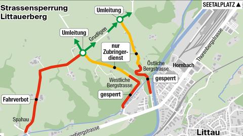 Gemeinde Malters verteidigt das Fahrverbot am Littauerberg