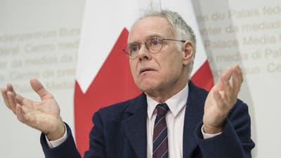 Lügen in der Politik seien manchmal legitim, findet der Alt Bundesrat Moritz Leuenberger. (Keystone)