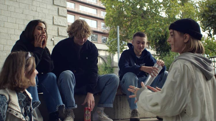 Szene aus dem Kurzfilm «Da Sein». (Bild: zvg)