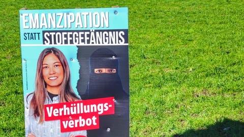 Zerstörte Plakate: SVP Ebikon setzt 500 Franken «Kopfgeld» aus