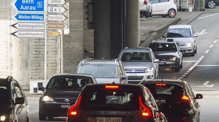 Der Raum Brugg und Windisch soll vom Durchgangsverkehr entlastet werden. (Alex Spichale)