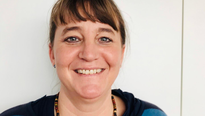 Julia Jung, 42, wird nächstes Jahr Kommandantin der Feuerwehr Stansstad. (Bild: PD)