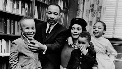 «Mein Vater nannte es die drei Übel»: Martin Luther Kings Sohn über die Unruhen in den USA