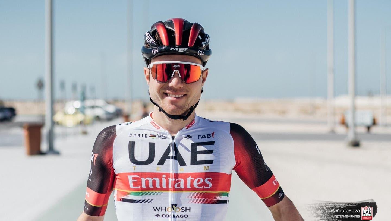 Im neuen Trikot: Marc Hirschi. (UAE Team Emirates)