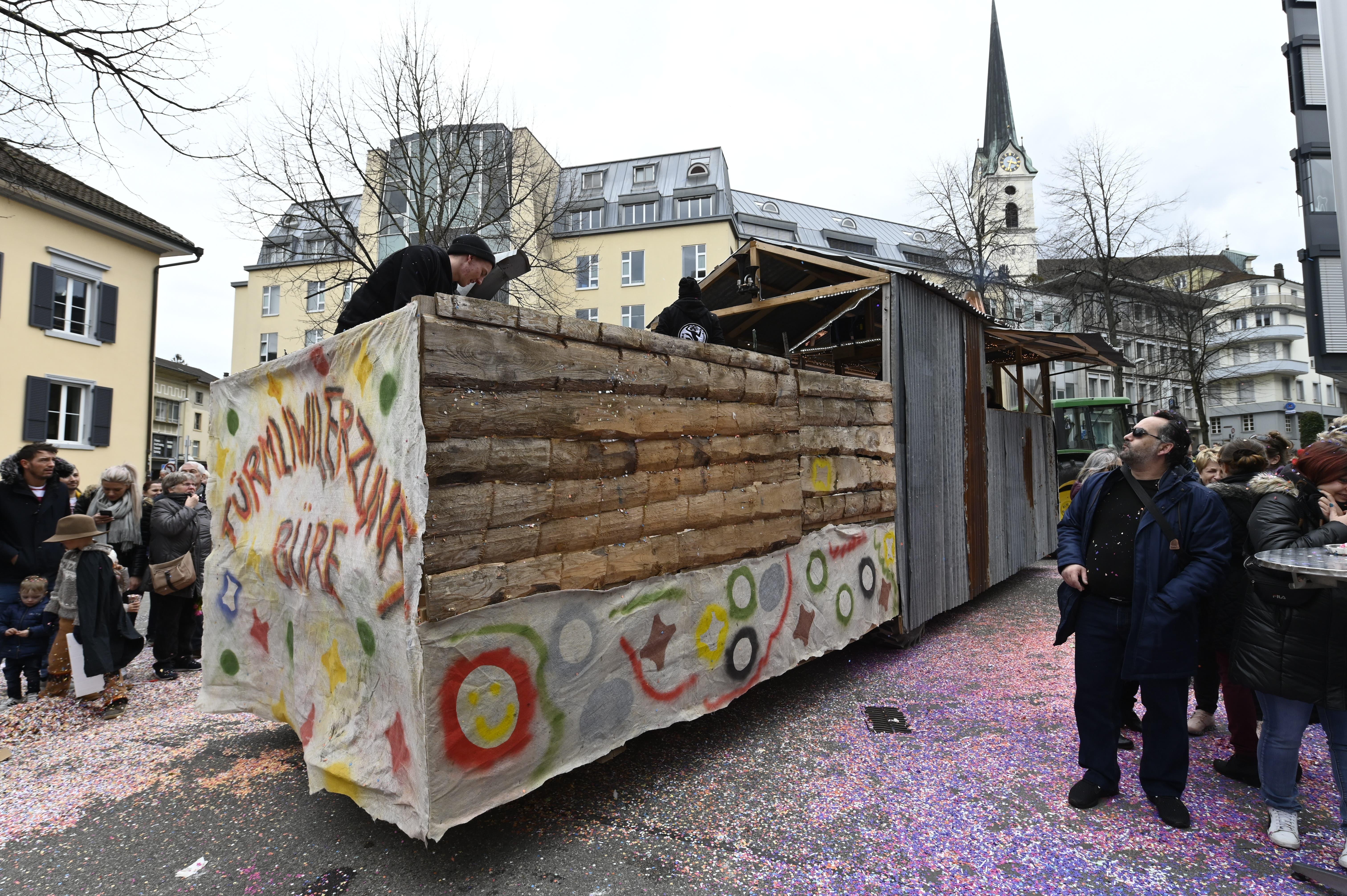 Umzug Fasnacht Grenchen 2020FasnachtsumzugTürmliwilerzunft Büren a.A.