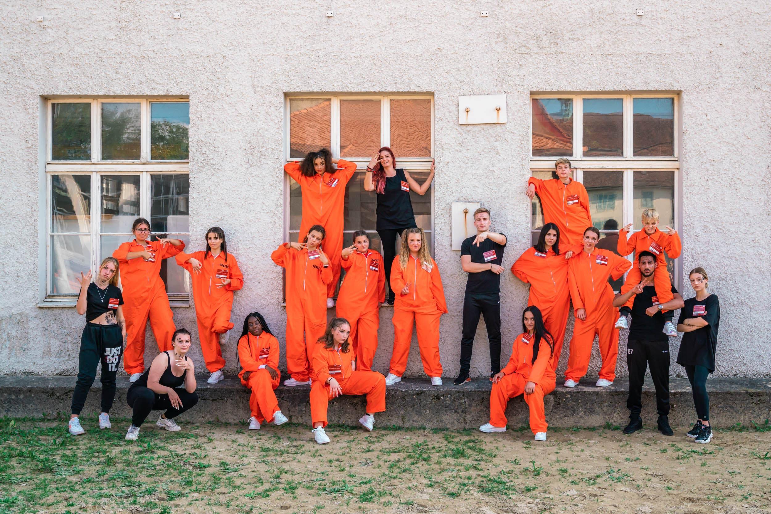 Insgesamt machten 36 Jugendliche aus allen Alters- und Leistungsstufen der Schulen in Niedergösgen und Schönenwerd mit.