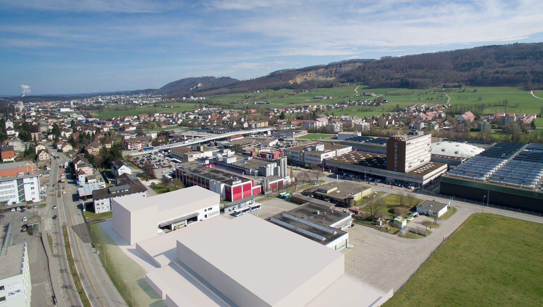 So gestaltet sich das neue Raumprogramm des Depots in Wangen bei Olten. (zvg)