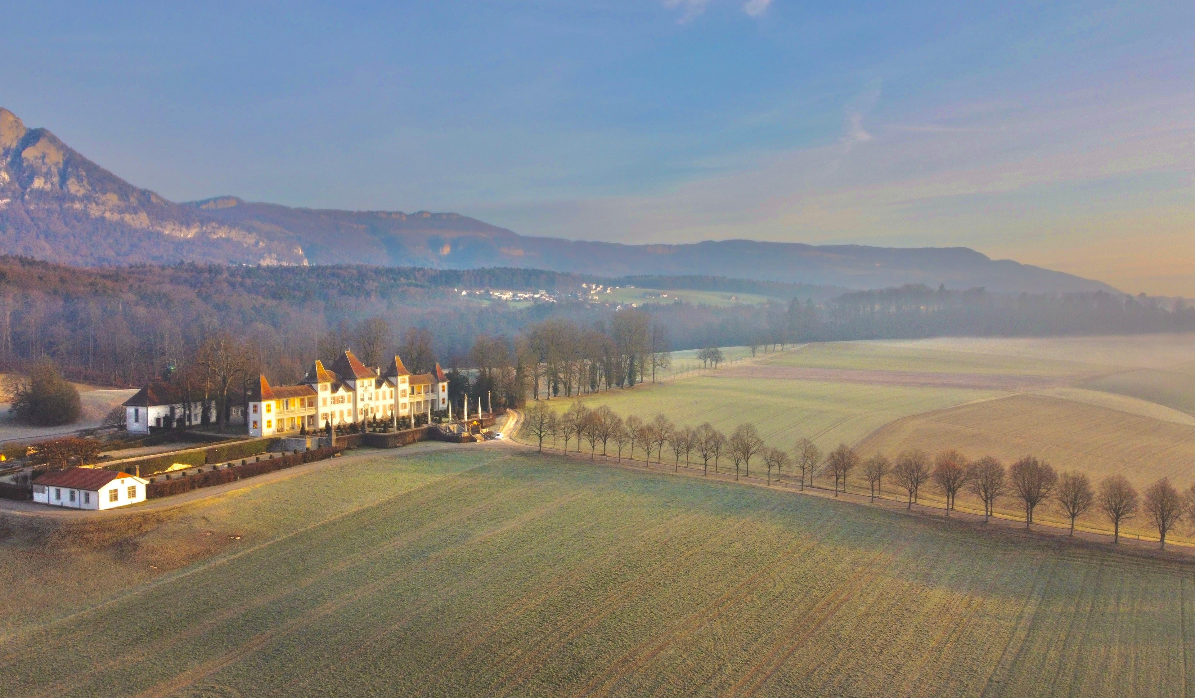 Schloss Waldegg bei Sonnenaufgang