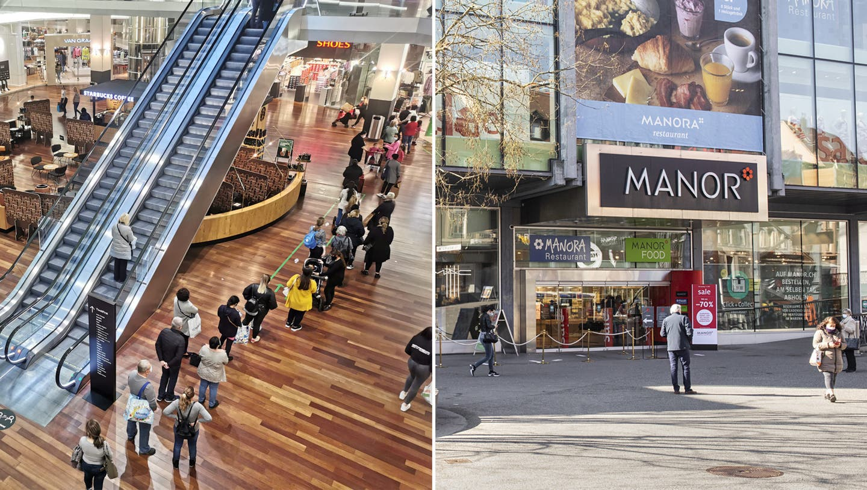 Langsames Erwachen in der Badener Innenstadt und Ansturm im Shoppi: So lief der erste Tag der Ladenöffnungen ab