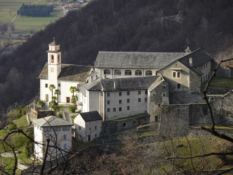 Santa Maria Assunta ist das älteste Kloster im Tessin.