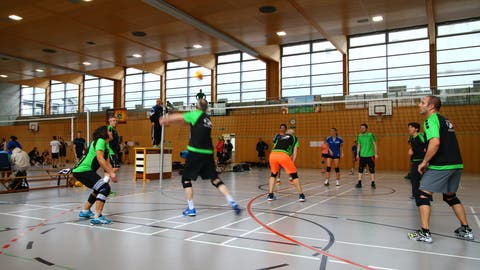 Die Volleyball-Meisterschaften der Nationalliga B sowie der 1. Liga, in der auch der STV Wil spielt, werden abgebrochen. (Bild: PD)