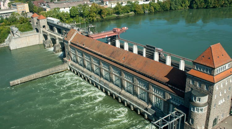 Die Energiedienst-Gruppe produzierte mit dem Wasserkraftwerk in Laufenburg im Jahr 2020 rund 700 Millionen Kilowattstunden Strom. (Bild: zvg(9. Juli 2013))
