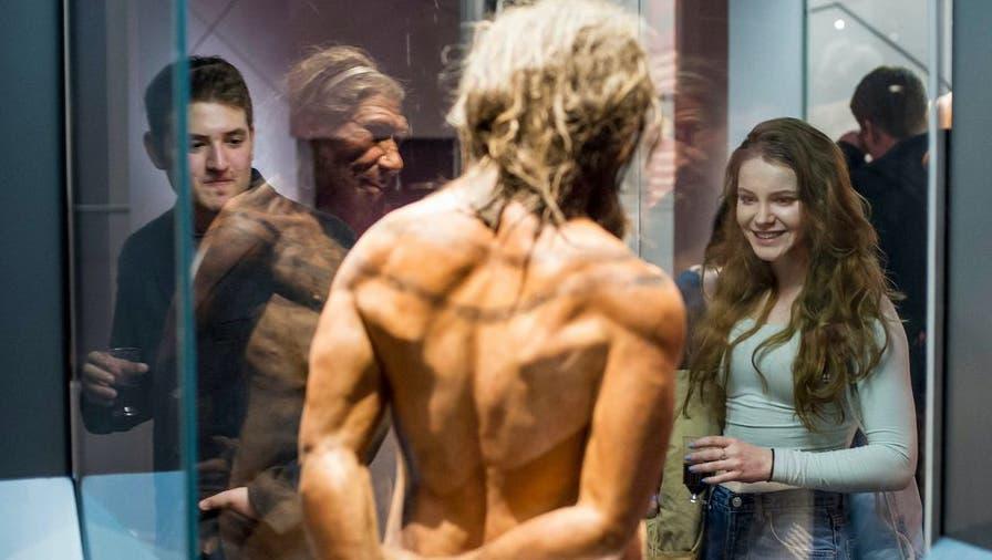 So furchtbar hässliche Typen können diese Neandertaler doch nicht gewesen sein ... (NHM London)