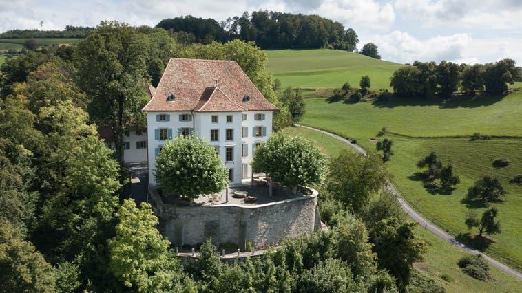 Das Schloss Schlossrued im Sommer. (Michael Küng (17.8.2020))