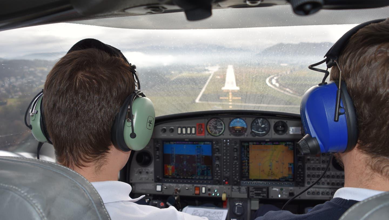 Die European Flight Academy bildet auf dem Flughafen Grenchen aus (Oliver Menge)
