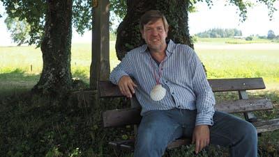 Neben dem Fasten gehört für Bernhard Lindner auch das Pilgern zu seinem Lebensweg: Zwei- bis dreimal pro Jahr trifft man ihn auf dem Jakobsweg an. (Thomas Wehrli / Aargauer Zeitung)