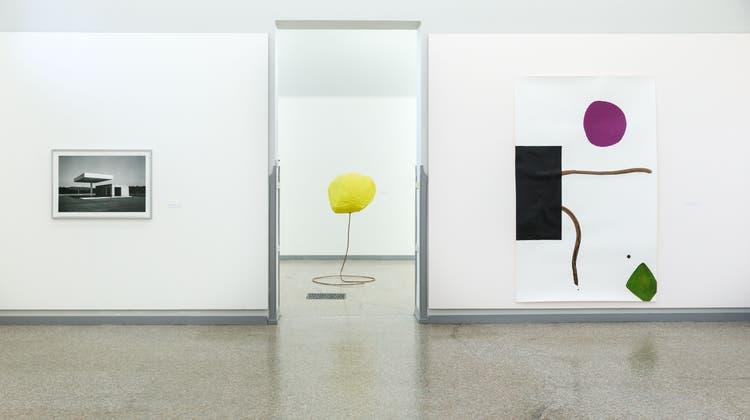 Drei neue Ausstellungen im Kunstmuseum Solothurn: Hier Claudio Moser (Hanspeter Bärtschi / SZ)