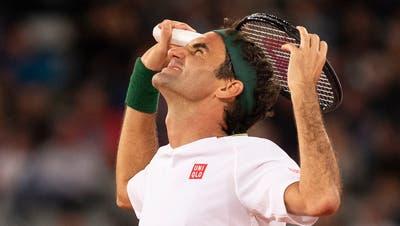 Roger Federer spielt wieder Tennis. Sein grösster Gegner? Die Zeit. (Nic Bothma / EPA)